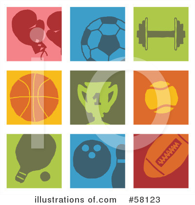 Sports Clipart #58123 by NL shop
