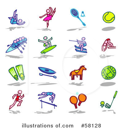 Sports Clipart #58128 by NL shop