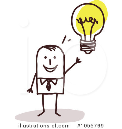 Idea Clipart #1055769 by NL shop | Royalty-Free (RF) Stock ...