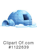 Royalty-Free (RF) igloo Clipart Illustration #1122639