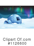 Royalty-Free (RF) Igloo Clipart Illustration #1126600