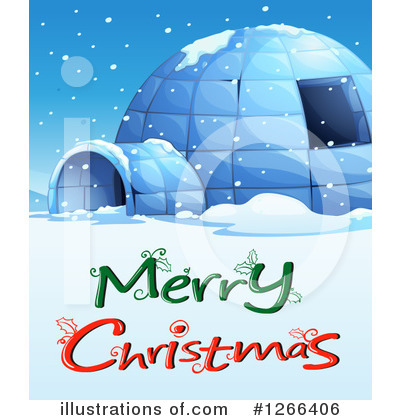 Igloo Clipart #1266406 by Graphics RF