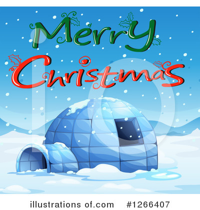 Igloo Clipart #1266407 by Graphics RF