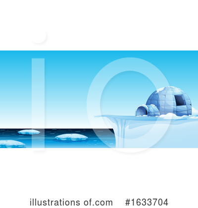 Royalty-Free (RF) Igloo Clipart Illustration by Graphics RF - Stock Sample #1633704