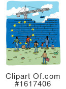 Immigration Clipart #1617406 by Domenico Condello