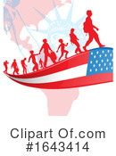 Immigration Clipart #1643414 by Domenico Condello