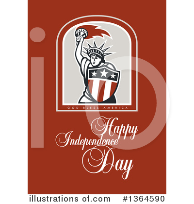 Statue Of Liberty Clipart #1364590 by patrimonio