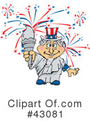 Independence Day Clipart #43081 by Dennis Holmes Designs