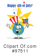 Independence Day Clipart #97511 by Hit Toon