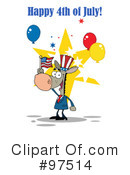 Independence Day Clipart #97514 by Hit Toon