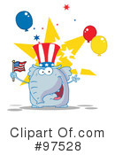 Independence Day Clipart #97528 by Hit Toon