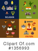 India Clipart #1356993 by Vector Tradition SM