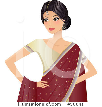 Royalty-Free (RF) Indian Clipart Illustration by Melisende Vector - Stock Sample #50041