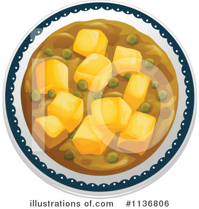 Indian cuisine clipart 1136806 illustration by graphics rf for Art of indian cuisine