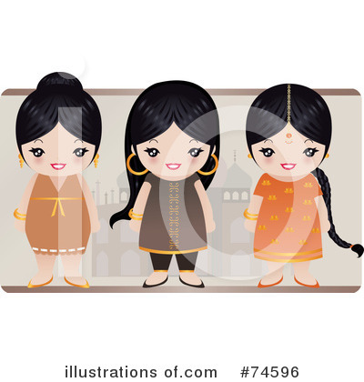 Asian Clipart #74596 by Melisende Vector