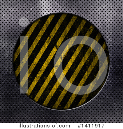Hazard Stripes Clipart #1411917 by KJ Pargeter