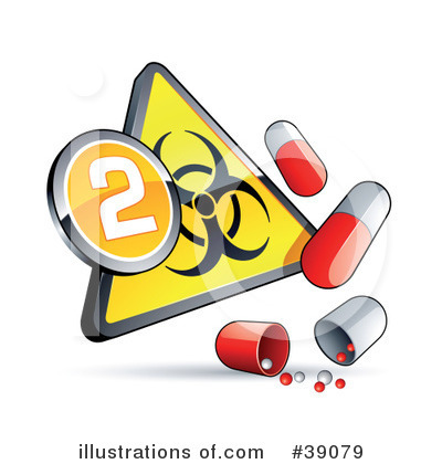 Royalty-Free (RF) Influenza Clipart Illustration by beboy - Stock Sample #39079