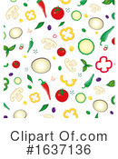 Ingredients Clipart #1637136 by Domenico Condello