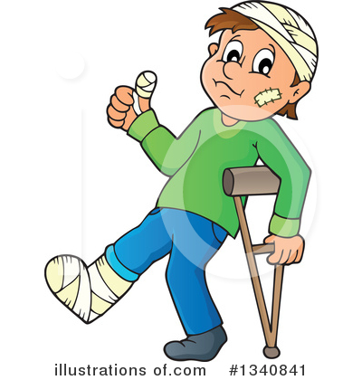 Injury Clipart #1340841 by visekart