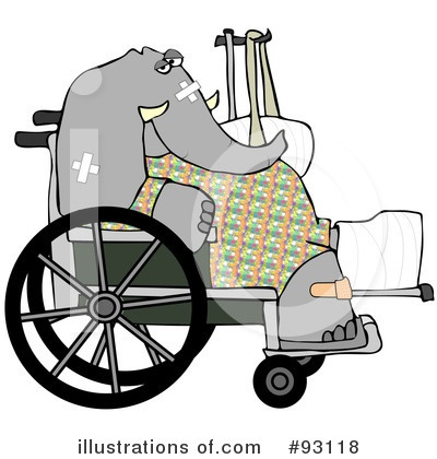 Elephant Clipart #93118 by djart