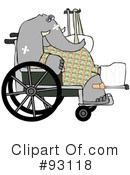 Royalty-Free (RF) Injured Clipart Illustration #93118