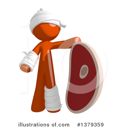 Injury Law Clipart #1379359 by Leo Blanchette