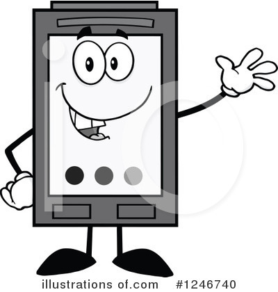 Ink Cartridge Clipart #1246740 by Hit Toon