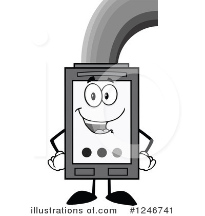 Ink Cartridge Clipart #1246741 by Hit Toon