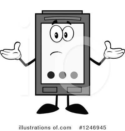 Ink Cartridge Clipart #1246945 by Hit Toon