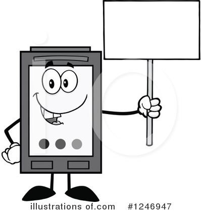 Ink Cartridge Clipart #1246947 by Hit Toon