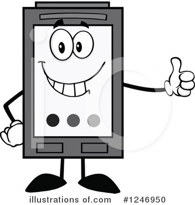 Ink Cartridge Clipart #1246950 by Hit Toon