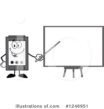 Ink Cartridge Clipart #1246951 by Hit Toon