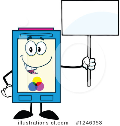 Ink Cartridge Clipart #1246953 by Hit Toon