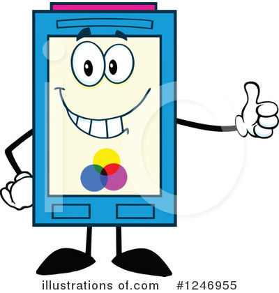 Ink Cartridge Clipart #1246955 by Hit Toon
