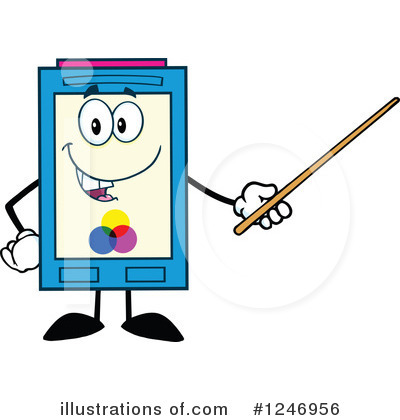 Ink Cartridge Clipart #1246956 by Hit Toon