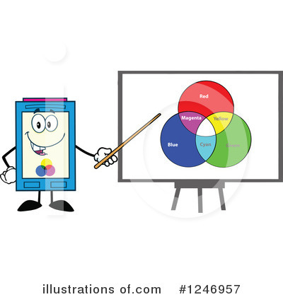 Ink Cartridge Clipart #1246957 by Hit Toon