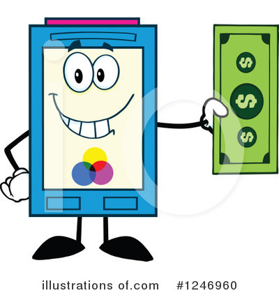 Ink Cartridge Clipart #1246960 by Hit Toon