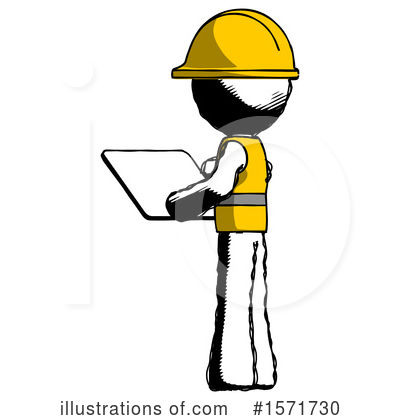 Ink Design Mascot Clipart #1571730 by Leo Blanchette