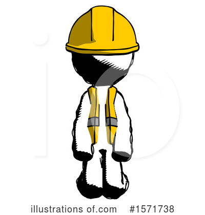 Royalty-Free (RF) Ink Design Mascot Clipart Illustration by Leo Blanchette - Stock Sample #1571738
