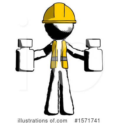 Ink Design Mascot Clipart #1571741 by Leo Blanchette