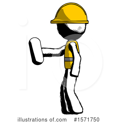 Royalty-Free (RF) Ink Design Mascot Clipart Illustration by Leo Blanchette - Stock Sample #1571750