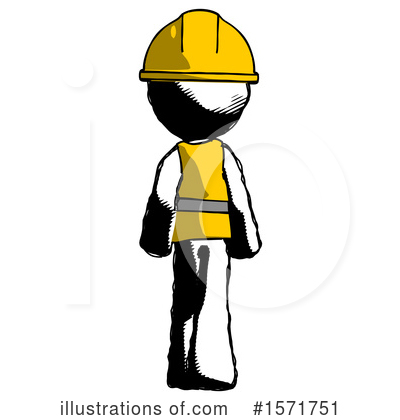Ink Design Mascot Clipart #1571751 by Leo Blanchette