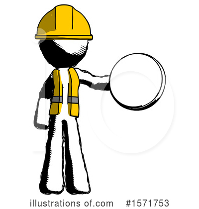 Royalty-Free (RF) Ink Design Mascot Clipart Illustration by Leo Blanchette - Stock Sample #1571753