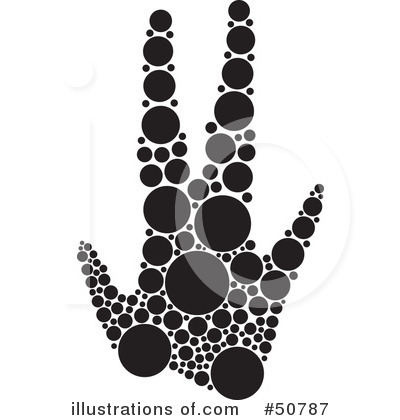 Royalty free rf inkblot paw print clipart illustration by cherie