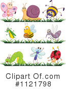 Royalty-Free (RF) Insect Clipart Illustration #1121798