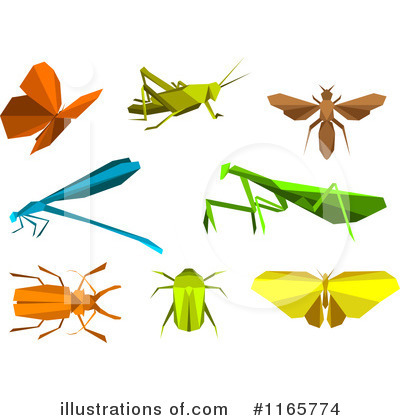 Dragonfly Clipart #1165774 by Vector Tradition SM