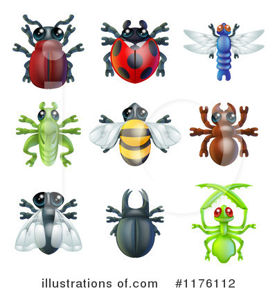 House Fly Clipart #1176112 by AtStockIllustration