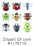 Royalty-Free (RF) Insect Clipart Illustration #1176112