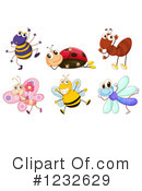 Royalty-Free (RF) Insect Clipart Illustration #1232629