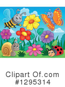 Royalty-Free (RF) Insect Clipart Illustration #1295314